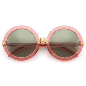 NWT Wildfox Malibu Pink Round Sunglasses